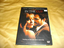 In the Cut (DVD, 2004, R-Rated Version) sealed region 1 english french meg ryan