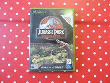 Jurassic Park Operation Genesis XBOX in OVP mit Anleitung