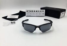Oakley Half Jacket 2.0 XL Mens Sunglasses 9154-01 Polished Black, Black Iridium