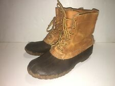 LL bean boots Mens 7 Womens 9  made in the USA