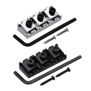 New Guitar String Locking Nut Double Locking System String Lock Metal 42mm