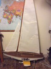 Custom Built RC Sailboard - Includes Rc Receiver And Winch - No Transmitter ASIS