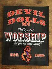 DEVIL DOLLS MC BOOK HELLS ANGEL OUTLAW BIKER 1%er MOTORCYCLE CLUB
