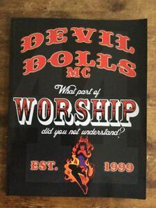 Devil dolls mc club book hells angels outlaw bikers 1%er motorcycle