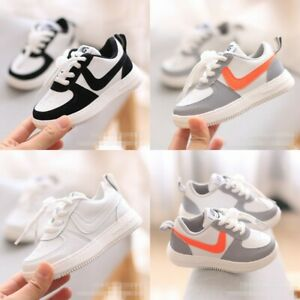 Baby Kids Boys Girls Infant Toddler Trainers Shoes Sneakers Casual sports shoes