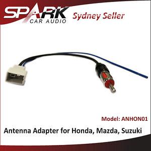 CT for Suzuki Swift 2011+ Kizashi 2010-14 antenna adaptor lead male aerial plug