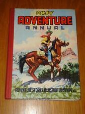 OKAY ADVENTURE ANNUAL BRITISH HB BOOK PURNELL 1950S 60S
