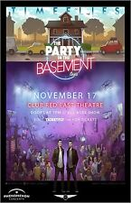 """TIMEFLIES """"THE PARTY IN THE BASEMENT TOUR"""" 2016 TUCSON CONCERT POSTER- Pop Music"""