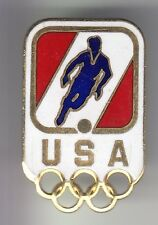 RARE PINS PIN'S .. OLYMPIQUE OLYMPIC JEUX FOOTBALL SOCCER CLUB TEAM USA 3D ~17
