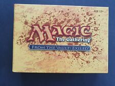 """MTG FROM THE VAULT """"EXILED """" MINT UNOPENED """" COMPLETE WITH CARD OUTER"""