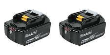 (2) NEW Makita LED GAUGE BL1850b 18V GENUINE Battery 5.0 AH 18 Volt