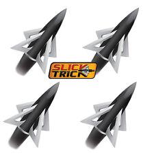 Slick Trick Broadheads Crossbow 4pk 150 Grain 4 Blade STX150 XBow #05540