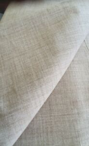 LOAF CLEVER WOOLLY BEIGE  UPHOLSTERY FABRIC 680cm X 140cm