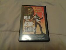 AUTOGRAPHED TED V. MIKELS' MARK OF THE ASTRO ZOMBIES,DVD,TESTED