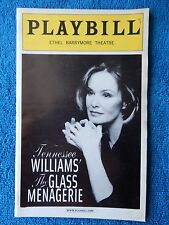 The Glass Menagerie - Ethel Barrymore Playbill - Opening Nite - March 22nd, 2005