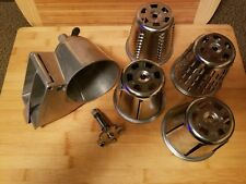 Vintage Hobart / KitchenAid Rotor Slicer Shredder VR Mixer Metal Attachment RARE
