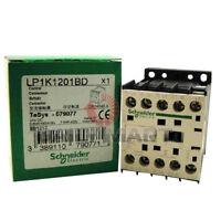 New Schneider TeSys LP1K1201BD Non-Reversing Contactor 24VDC Coil 12A 3-Pole 1NO