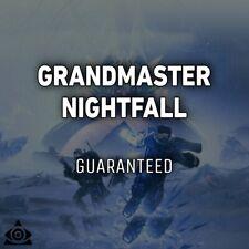 Grandmaster Nightfall [ GUARANTEED | Xbox Ps4 | Pc Cross Save