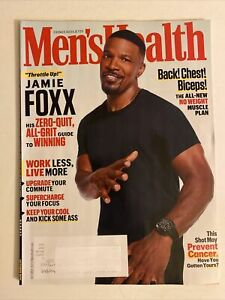 MENS HEALTH OCTOBER 2021 - JAMIE FOXX - BACK CHEST BICEPS NO WEIGHTS - 96 pages
