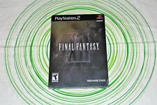 FINAL FANTASY 12 COLLECTOR'S EDITION brand new Ps2 ntsc USA