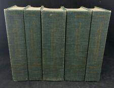 Allibones Critical Dictionary Of English Literature etc. In 5 Volumes, 1965 Ed.