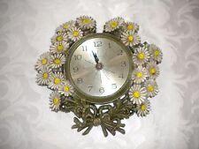 "Rare Vintage ELGIN  Wall Clock 9.5"" X 9.5"""