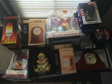 Lot of 11 Clocks, Watches with Collectibls