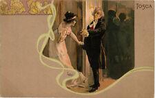 Metlicovitz - Giacomo Puccini - Opera, Serie Tosca - M105