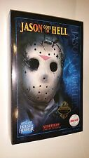 """JASON GOES TO HELL Friday the 13th SIDESHOW Exclusive 12"""" Figure new in box"""