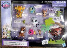 11 Pet Friends Littlest Pet Shop - Redley Furrytail #120 A COLORFUL BUNCH LPS