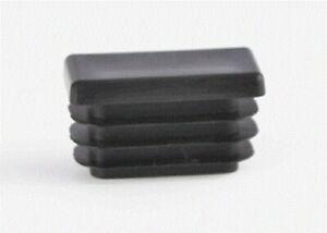 4 Plastic Rectangular Glides - Fits Inside Hollow Leg, 6 Sizes!
