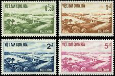 Viet Nam Scott #166 - #169 Complete Set of 4 Mint Never Hinged