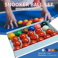 2-1/16'' Inch Deluxe American Snooker  Set Complete 22pcs Billiard