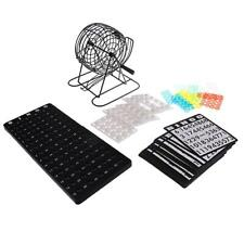 Classic Bingo Cage Game Set Party Home Pub Entertainment Lucky Balls Game