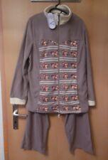 Hausanzug, Schlafanzug, Polarstern, Flanell Fleece, Gr. M, QVC, neu mit Etikett