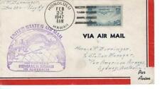 First flight cover, Fam F19-28, Honolulu to Stdney, Australia,1947, Scott #C20