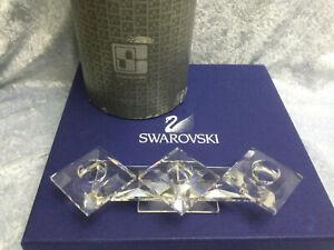 Swarovski Crystal 106 Candleholder (Hole Style) 7600106000H 011076. Retired 1985