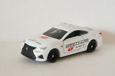 TOMICA AEON 2015 SUPER GT SAFETY CAR LEXUS RC F ~ 1/59