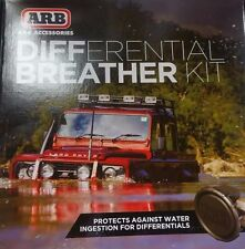 ARB Differential Axle Breather Kit Universal 4 Ports 170112 Black