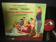 "Tennent Productions Ltd/ ""Living For Pleasure"" LP UK PRESS"