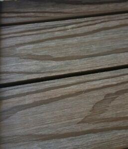 Terrassenboden Balkon Dielenboden WPC Klickfliesen Holz Braun 12 Kartons Neu