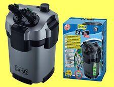 Tetra EX 600 plus Aquarium Außenfilter inkl Filtermaterial, für Aquarien 60-120L