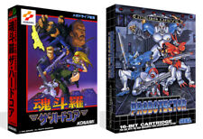 Contra The Hard Corps Sega Mega Drive JP Game Box Case + Cover Art Work NoGame