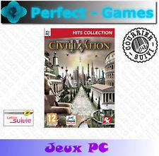 SID MEIERS CIVILAZATION 4 PC DVD games jeu neuf new sous blister
