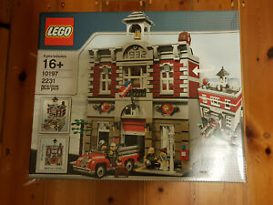 Lego Fire Brigade 10197 modular buildings retired in 2013  highly collectable