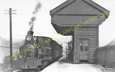 Waterhouses Railway Station Photo. North Staffs & Leek & Manifold Railways. (7)