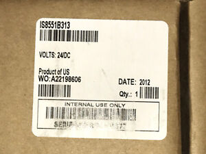 Asco IS8551B313 Intrinsically Safe 24VDC Solenoid, Coil & Manifold