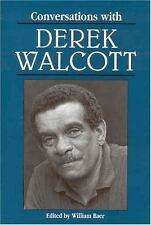 Literary Conversations: Conversations with Derek Walcott (1996, Paperback)