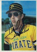 "SIGNED 1980 Kent Tekulve Topps Jumbo #45 Card 5""x7"" Autograph Pittsburgh Pirates"