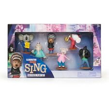 HERE IS AGAIN ⭐ILLUMINATION Presents ⭐SING⭐Six Piece! ⭐Play Set / Authentic ⭐